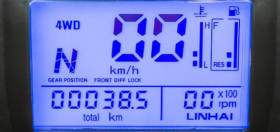 Wielofunkcyjny wyświetlacz LCD