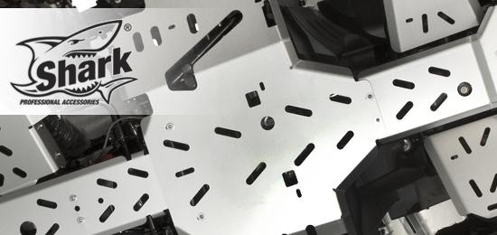 SHARK - aluminiowe płyty podwozia