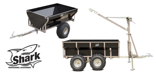 SHARK - Heavy duty trailers - Wood series